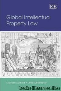 قراءة و تحميل كتاب Global Intellectual Property Law PDF