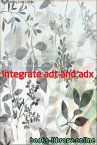 قراءة و تحميل كتاب Integrate adt and adx PDF