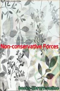 قراءة و تحميل كتاب  Non-conservative Forces PDF