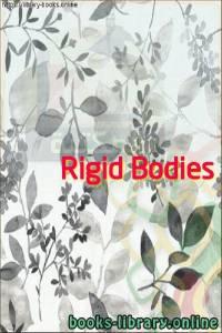 قراءة و تحميل كتاب  Rigid Bodies PDF