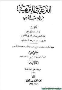 قراءة و تحميل كتاب الترغيب والترهيب من الحديث الشريف ج2 PDF