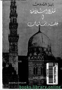 قراءة و تحميل كتاب مدن اسلامية فى عهد المماليك PDF