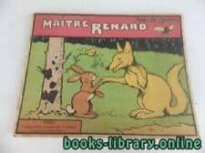 قراءة و تحميل كتاب Maitre Renard. Texte et illustrations de Benjamin Rabier PDF