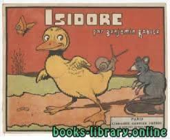قراءة و تحميل كتاب Isidore. Texte et illustrations de Benjamin Rabier PDF