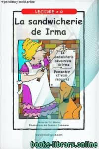 قراءة و تحميل كتاب La sandwicherie de Irma  PDF