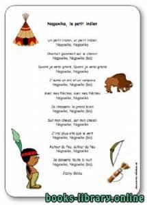 قراءة و تحميل كتاب Chanson « Nagawika, le petit indien » de Jacky Galou PDF