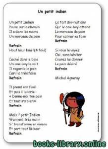 قراءة و تحميل كتاب Chanson « Un petit indien » de Michel Agneray PDF