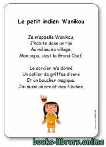 قراءة و تحميل كتاب Comptine « Le petit indien Wanikou » PDF