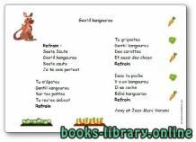قراءة و تحميل كتاب « Gentil kangourou », une chanson d'Anny et Jean-Marc Versini PDF