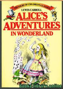 قراءة و تحميل كتاب Alices adventures in wonderland PDF