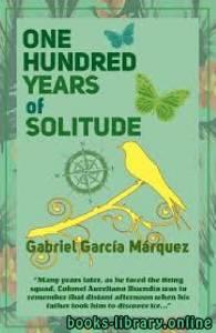 قراءة و تحميل كتاب One Hundred Years of Solitude PDF