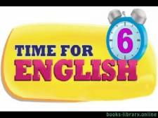 قراءة و تحميل كتاب Time for English للصف السادس الابتدائي الفصل الدراسي الاول PDF