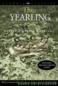 قراءة و تحميل كتاب The Yearling PDF