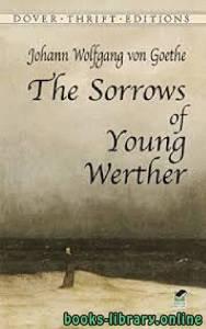 قراءة و تحميل كتاب The Sorrows of Young Werther PDF