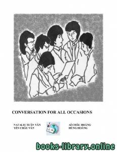 قراءة و تحميل كتاب CONVERSATION FOR ALL OCCASIONS PDF
