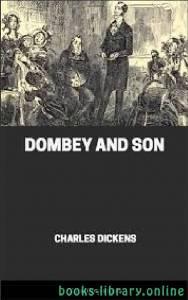 قراءة و تحميل كتاب Dombey And Son PDF