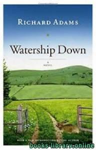 قراءة و تحميل كتاب Watership Down PDF