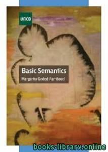 قراءة و تحميل كتاب Basic Semantics PDF