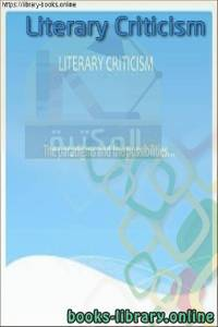 قراءة و تحميل كتاب Literary-Criticism PDF