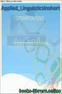 قراءة و تحميل كتاب Applied_Linguisticsinshort PDF