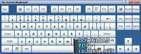 قراءة و تحميل كتاب اختصارات الكيبورد في ويندوز  PDF
