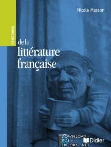 قراءة و تحميل كتاب Nicole Masson de la littérature française pdf PDF