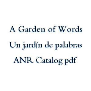 قراءة و تحميل كتاب A Garden of Words / Un jardín de palabras - ANR Catalog pdf PDF
