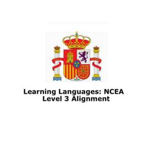 قراءة و تحميل كتاب NCEA Level 3 Spanish Vocabulary List Appendix for external assessment PDF