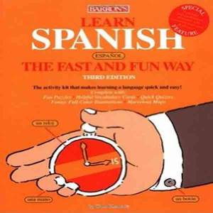 قراءة و تحميل كتاب The Spanish Language Speed Learning Course pdf تعليم الاسبانيه بسرعه PDF
