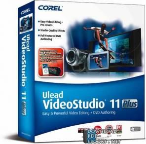 قراءة و تحميل كتاب شرح لبرنامج المونتاج Ulead Video Studio  PDF