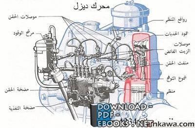 قراءة و تحميل كتاب المحركات وانواعها  PDF